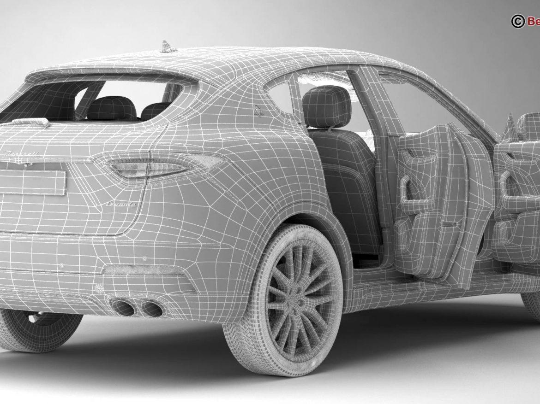 Maserati Levante 2017 3d model 0