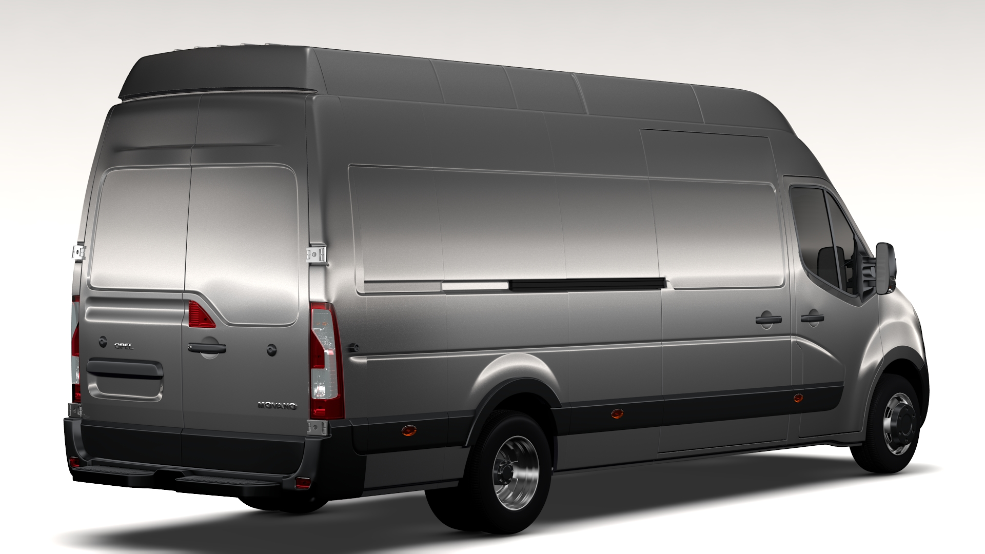 opel movano l4h3 van 2016 3d model buy opel movano l4h3 van 2016 3d model flatpyramid. Black Bedroom Furniture Sets. Home Design Ideas