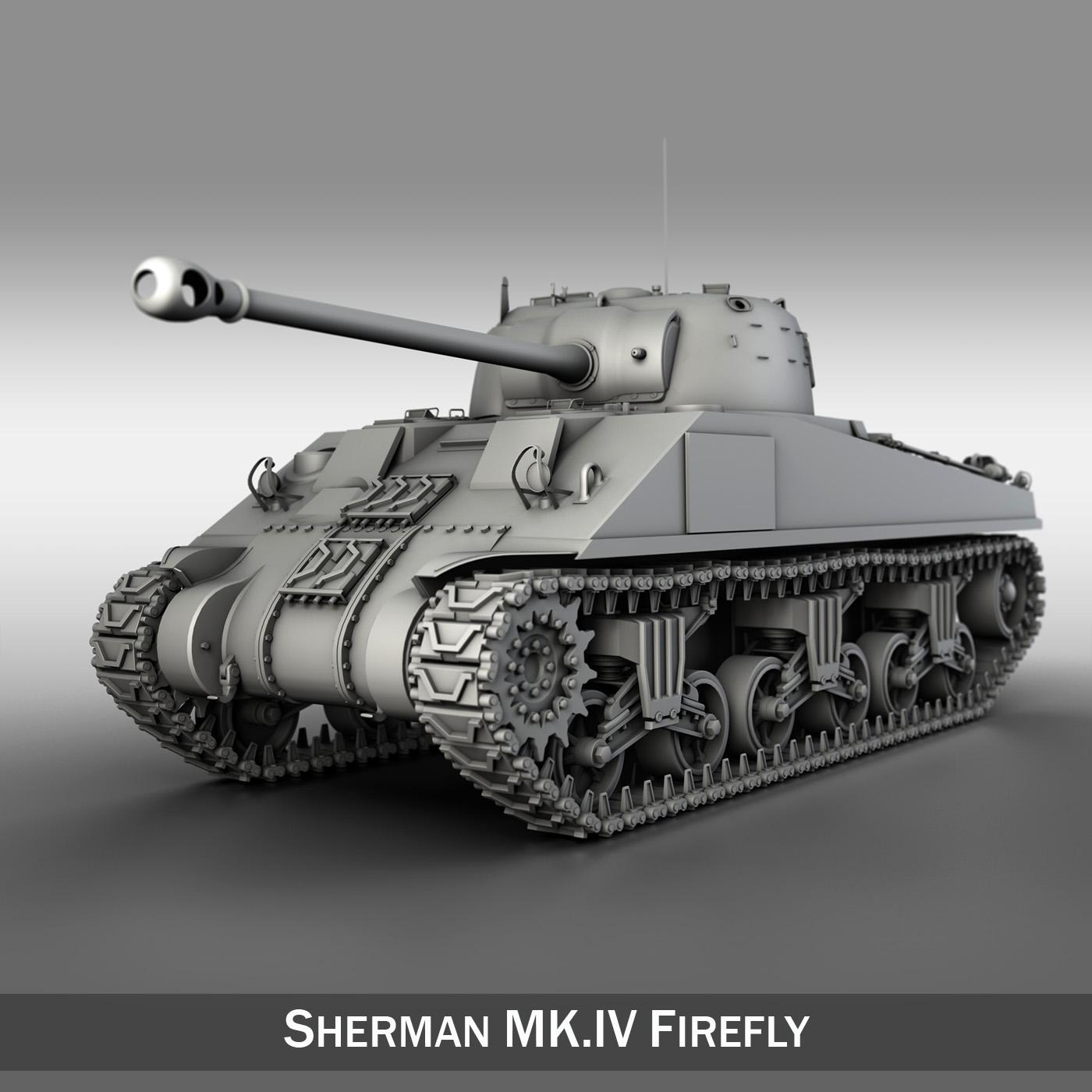 sherman mk.vc firefly múnla 3d 3ds fbx c4d lwo obj 251542