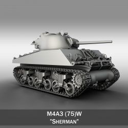 M4A3 - Sherman  ( 235.52KB jpg by Panaristi )