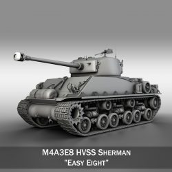 M4A3E8 Sherman - Easy Eight  ( 241.1KB jpg by Panaristi )