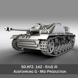 SDKFZ 142 - StuG III - Ausf. G - Mid Production ( 271.03KB jpg by Panaristi )