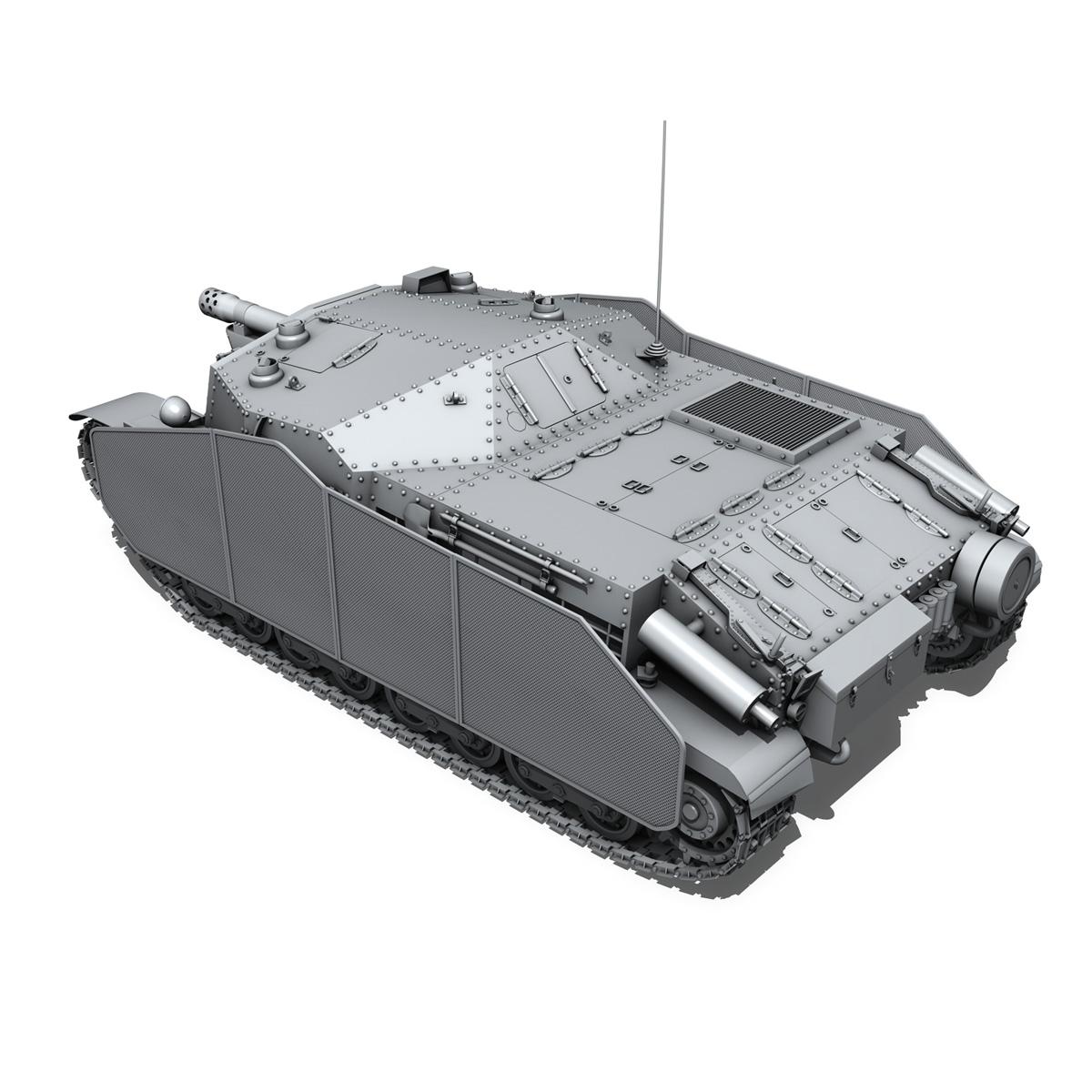 43m zrinyi ii - Macar hücum silahı 3d model 3ds fbx c4d lwo obj 251632