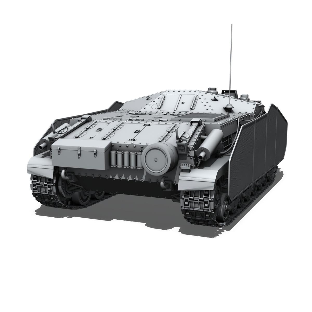 43m zrinyi ii - Macar hücum silahı 3d model 3ds fbx c4d lwo obj 251633