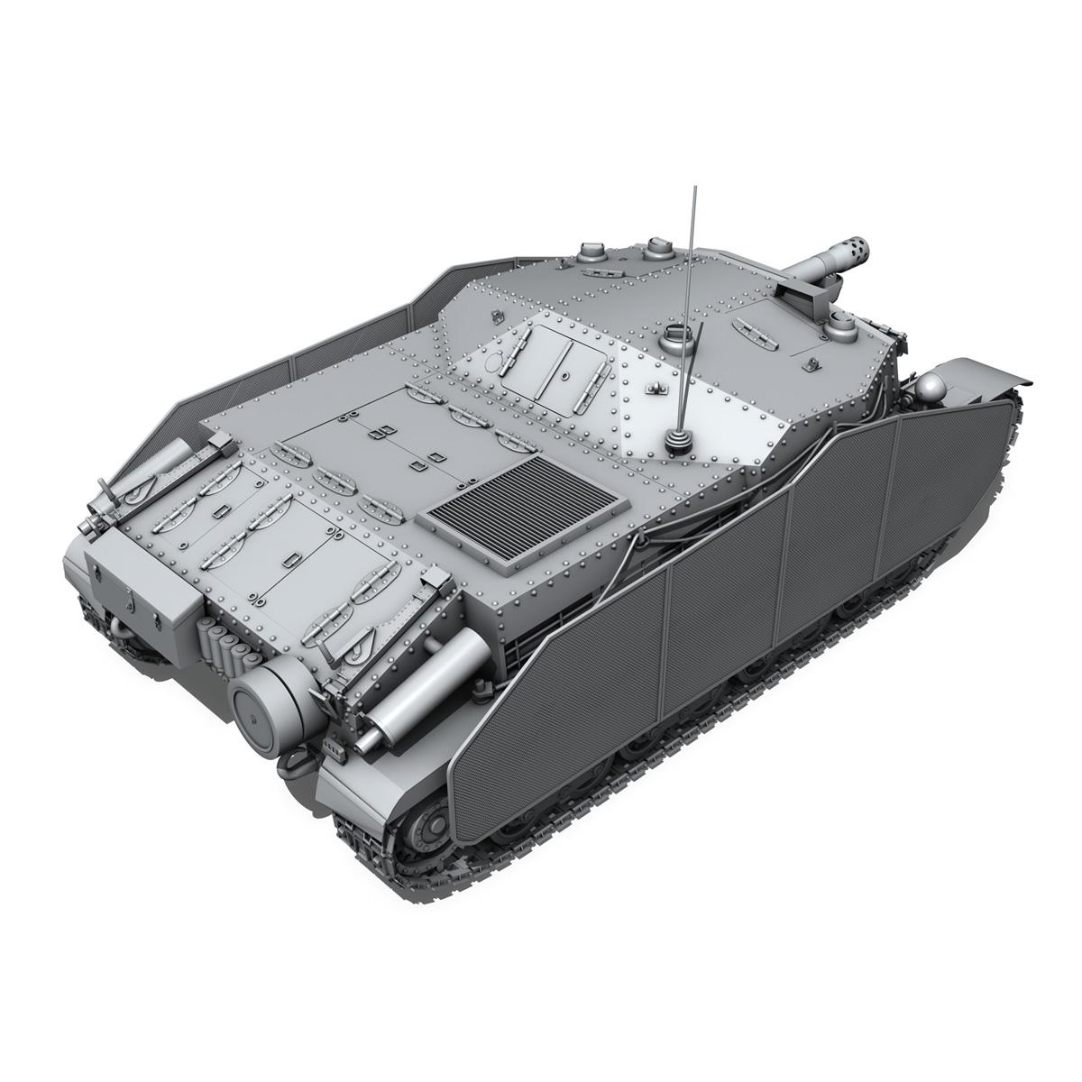 43m zrinyi ii - Macar hücum silahı 3d model 3ds fbx c4d lwo obj 251634