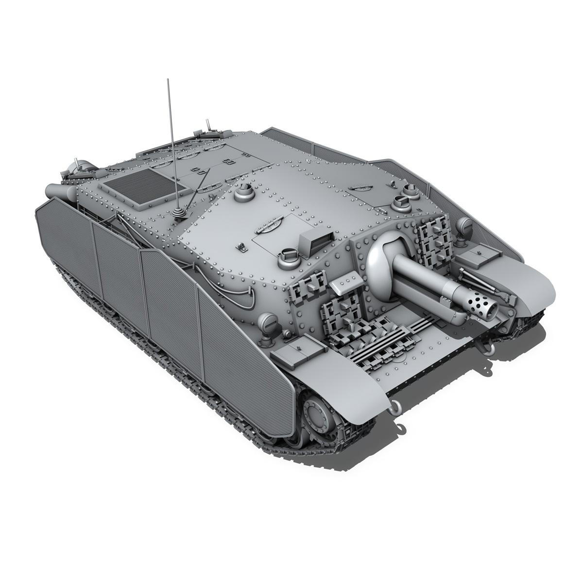 43m zrinyi ii - Macar hücum silahı 3d model 3ds fbx c4d lwo obj 251635