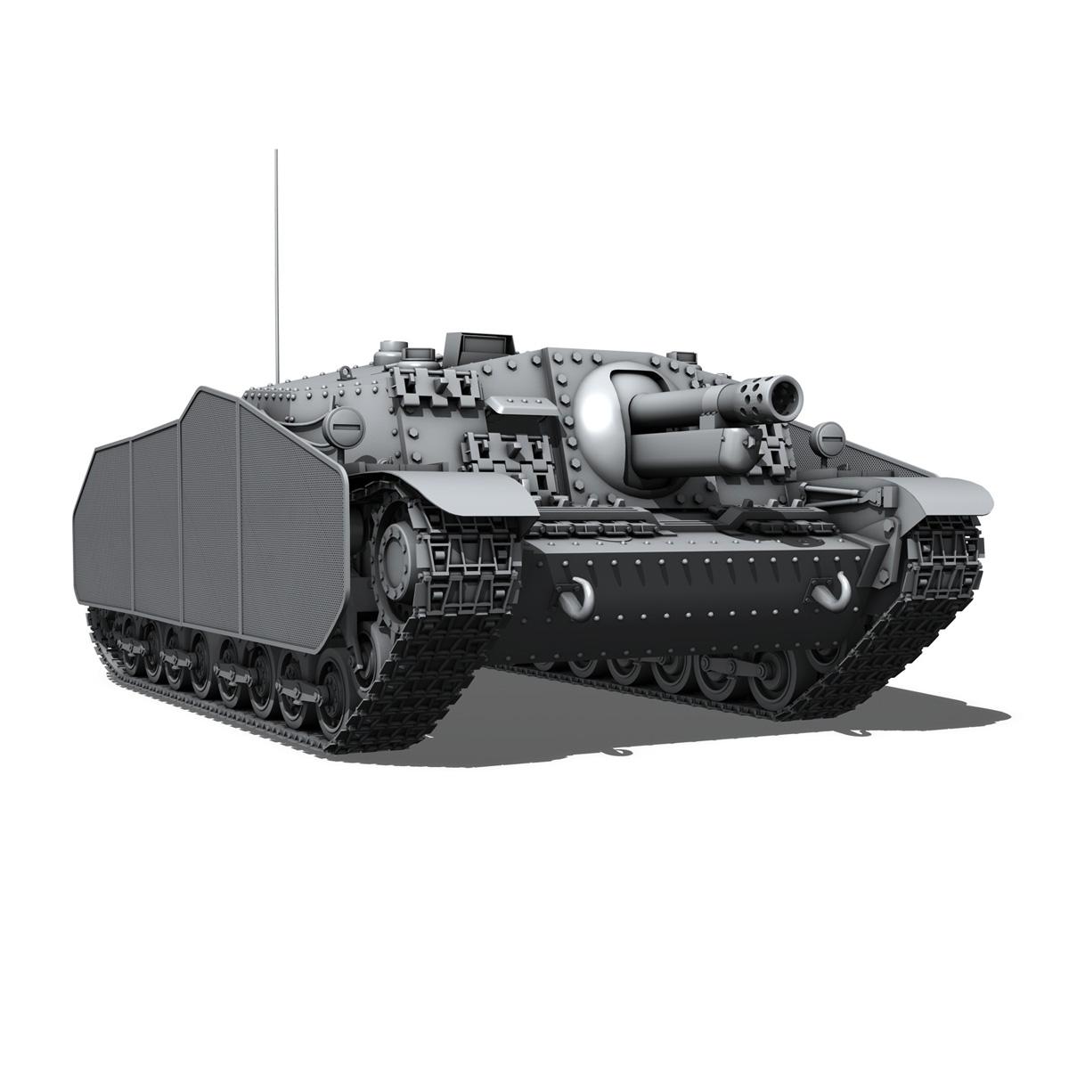 43m zrinyi ii - Macar hücum silahı 3d model 3ds fbx c4d lwo obj 251636