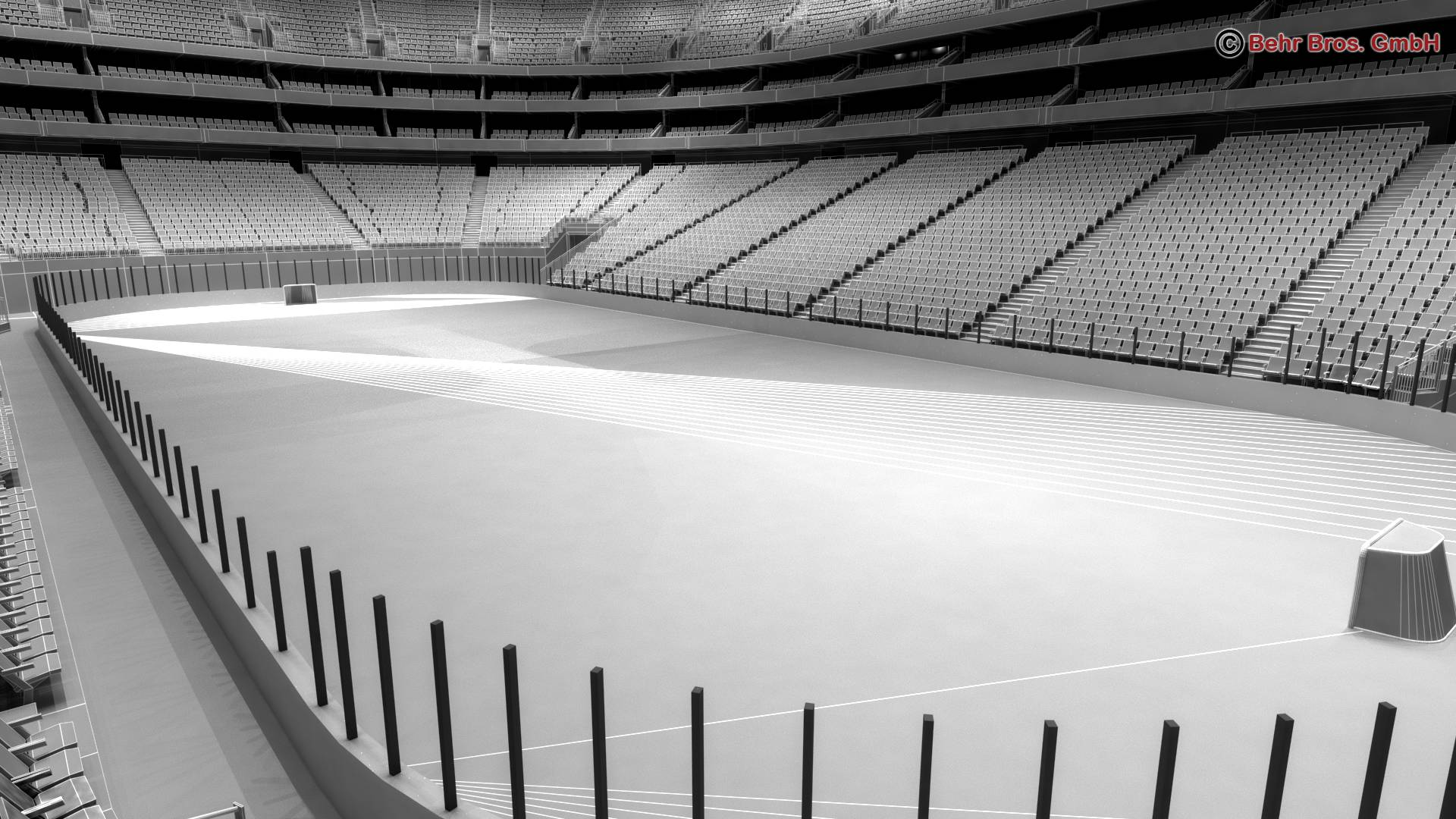 ice hockey arena v2 3d model 3ds max fbx c4d lwo ma mb obj 251662