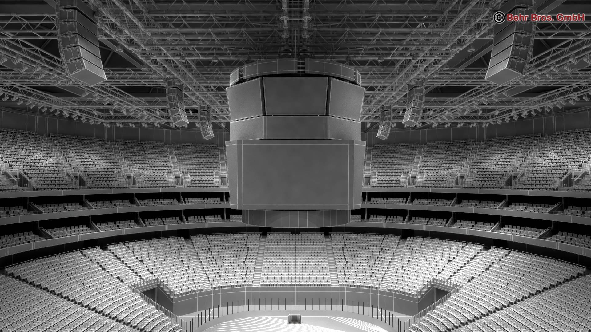 ice hockey arena v2 3d model 3ds max fbx c4d lwo ma mb obj 251663