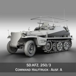 SDKFZ 250 - Command Halftrack ( 249.63KB jpg by Panaristi )