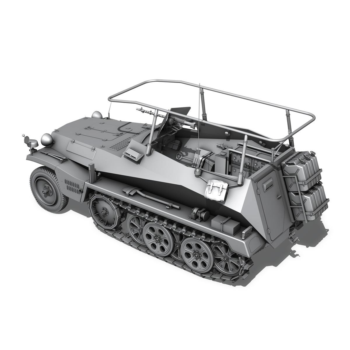 sdkfz 250 – command halftrack 3d model 3ds fbx c4d lwo obj 251671