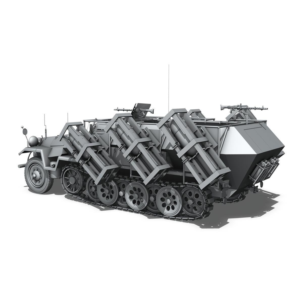 sdkfz 251 ausf.b – ground stuka 3d model 3ds fbx c4d lwo obj 251682