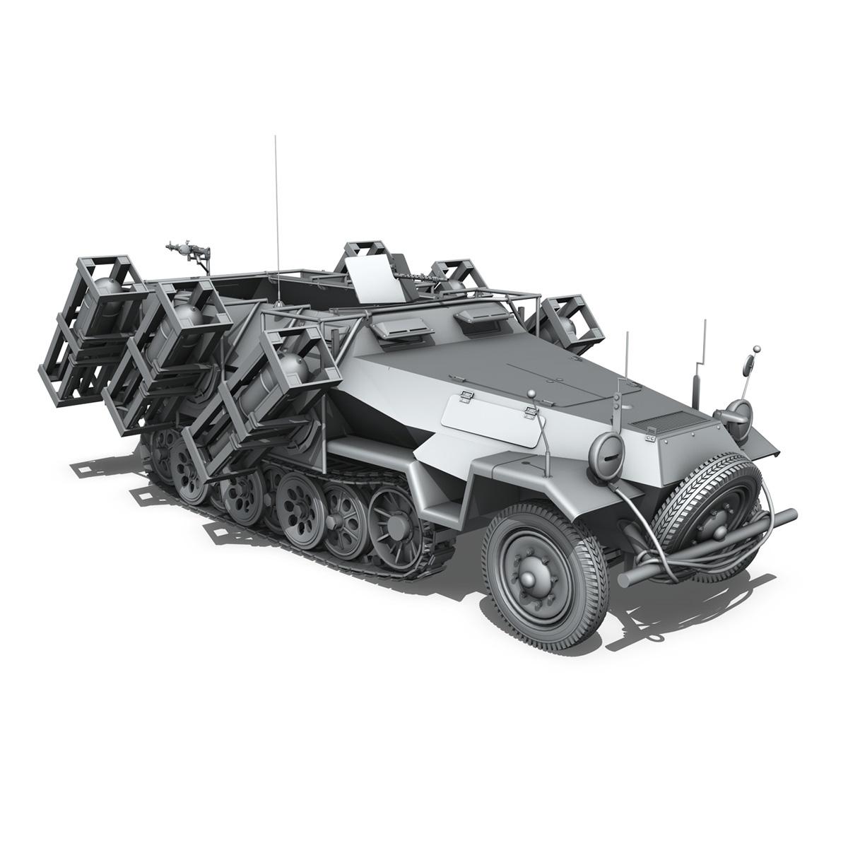 sdkfz 251 ausf.b – ground stuka 3d model 3ds fbx c4d lwo obj 251685