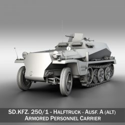 SD.KFZ 250 - German Halftruck ( 240.96KB jpg by Panaristi )