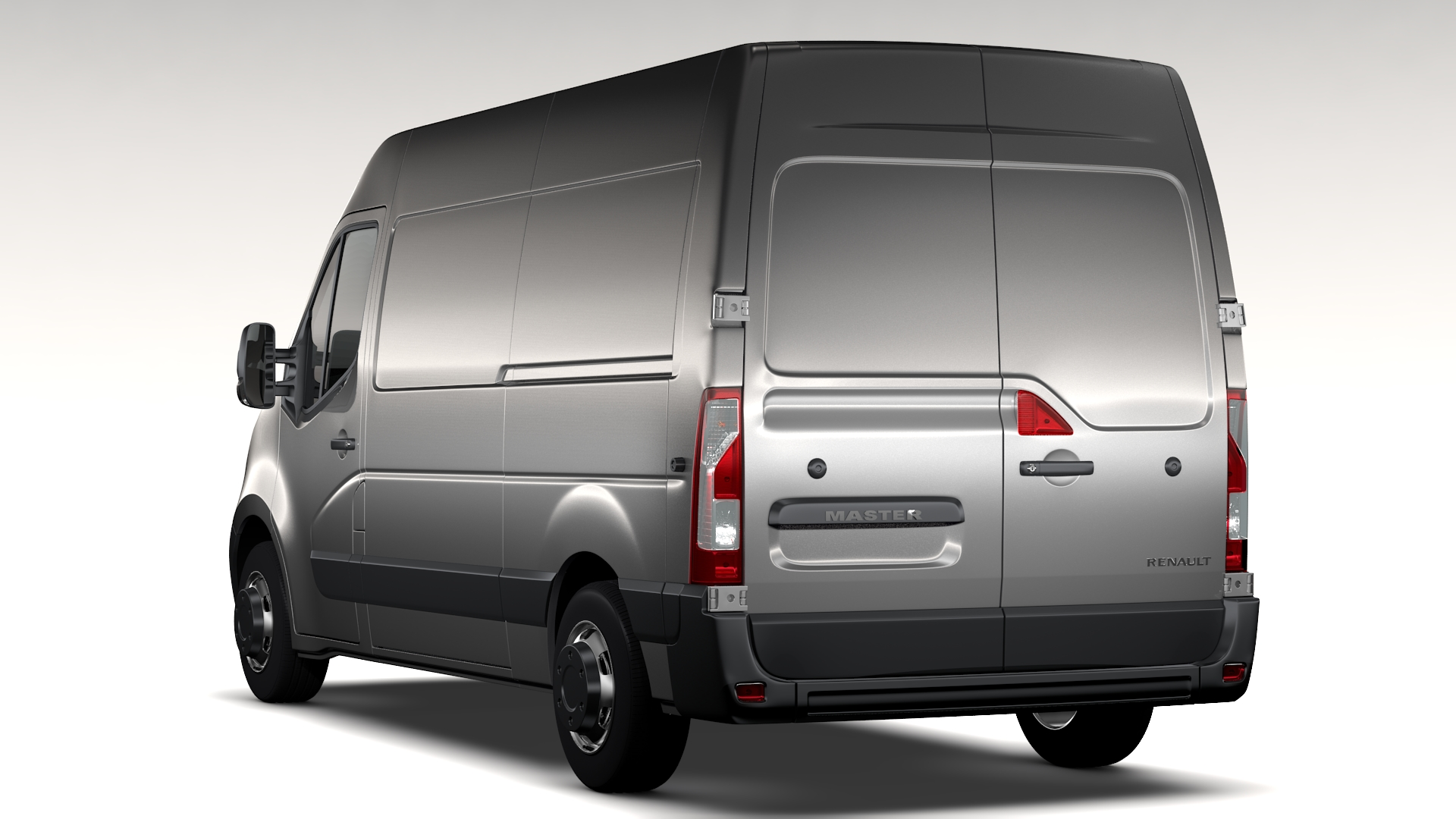renault master l2h2 van 2010 3d model buy renault master. Black Bedroom Furniture Sets. Home Design Ideas