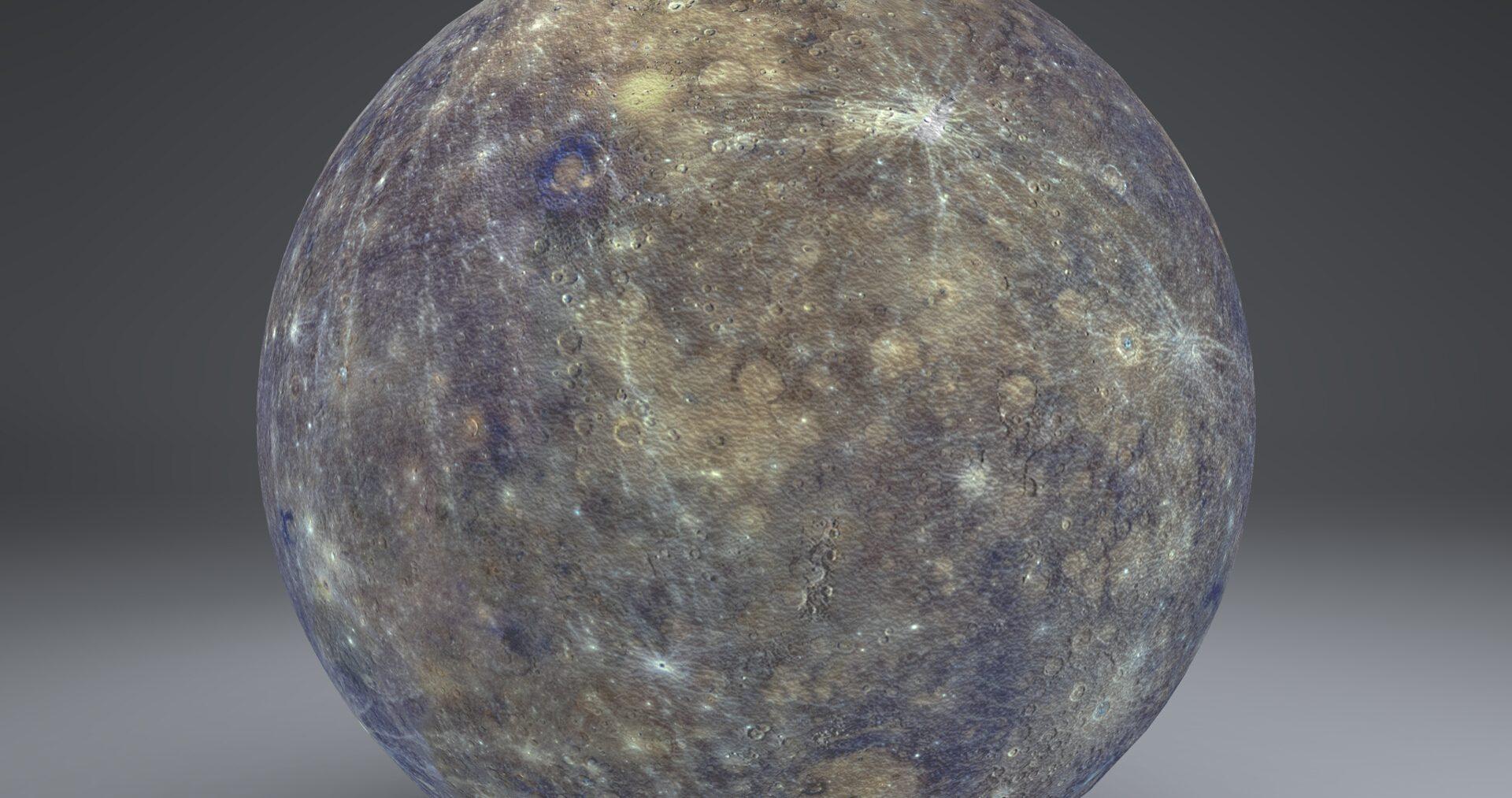 mercury 4k globe 3d model 3ds fbx blend dae obj 252187