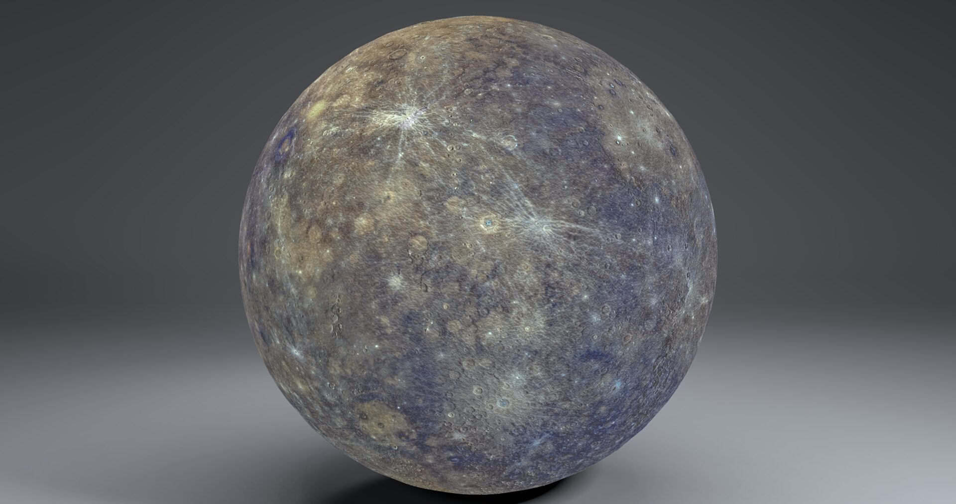 mercury 4k globe 3d model 3ds fbx blend dae obj 252188