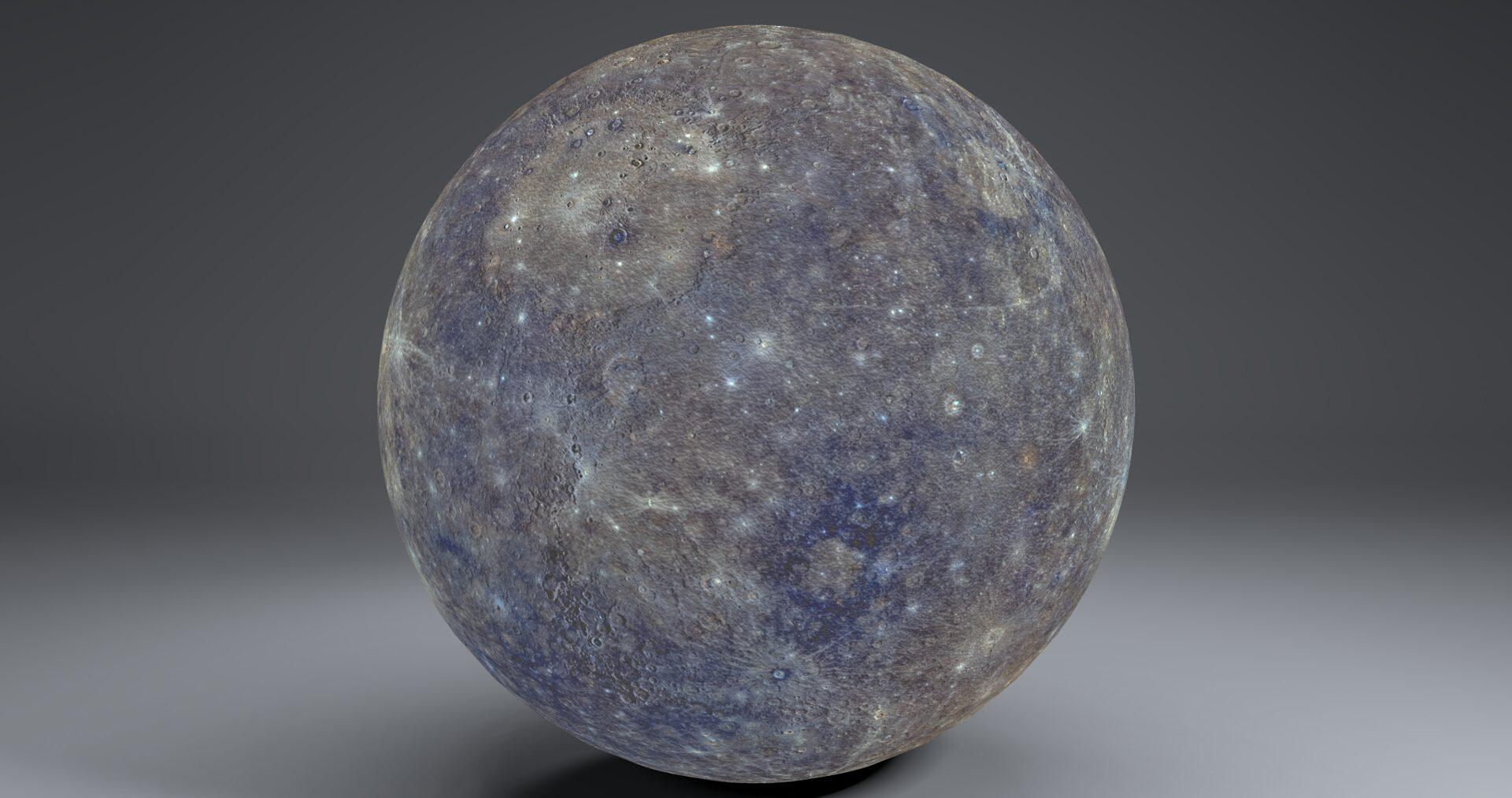 mercury 4k globe 3d model 3ds fbx blend dae obj 252191