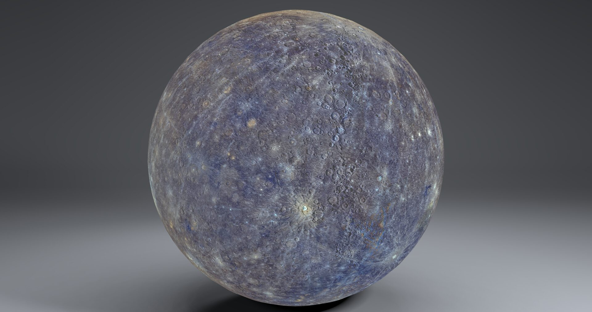 mercury 4k globe 3d model 3ds fbx blend dae obj 252194