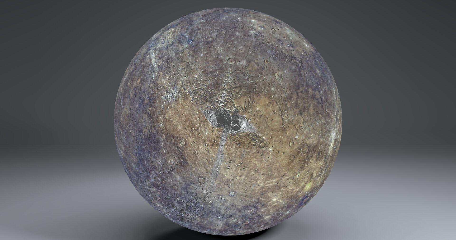 mercury 4k globe 3d model 3ds fbx blend dae obj 252196