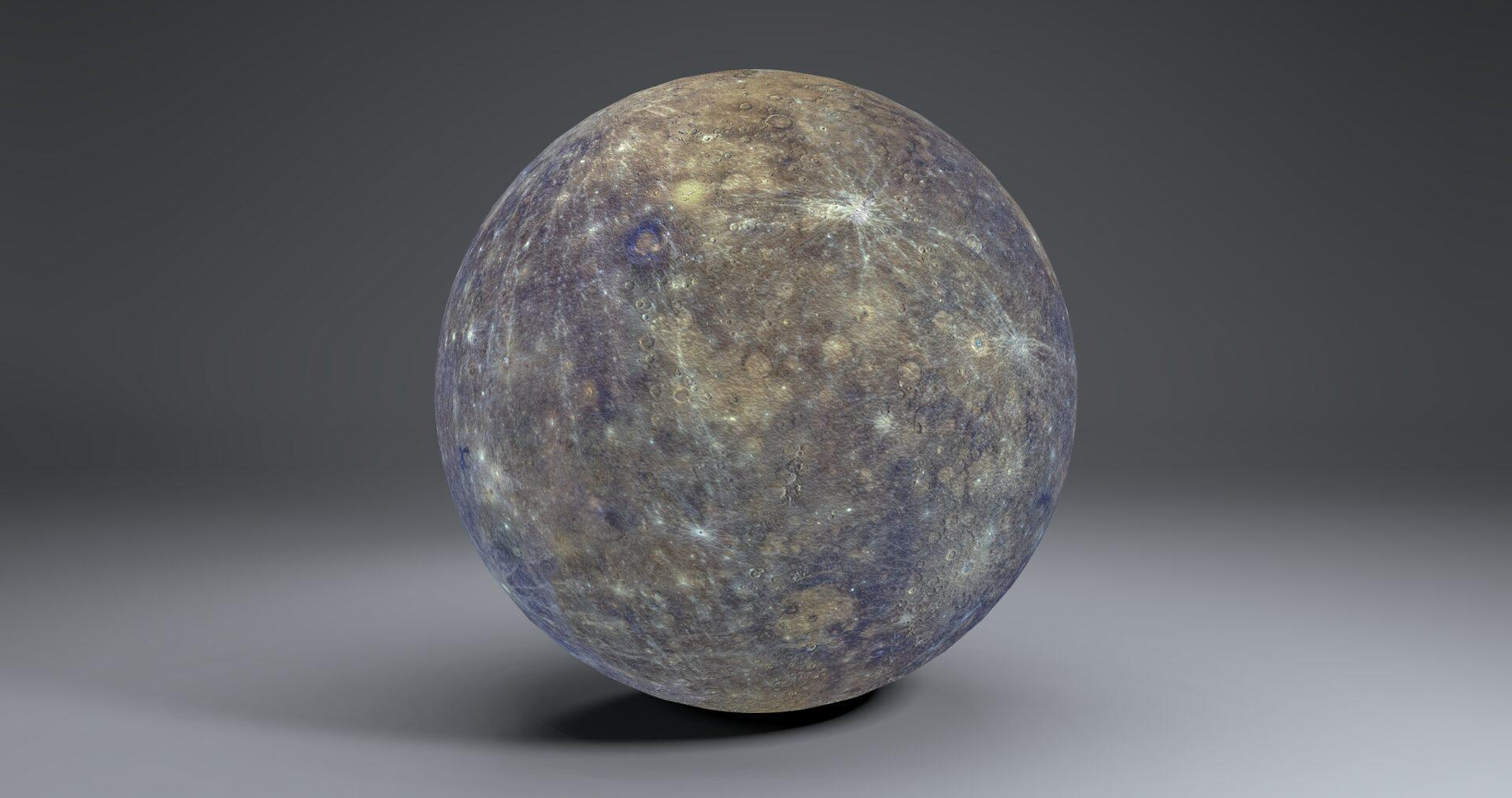 mercury 4k globe 3d model 3ds fbx blend dae obj 252197