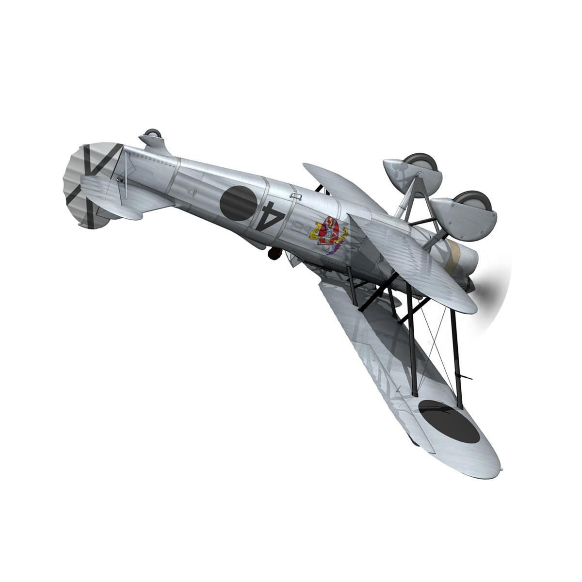 fiat cr.32 - Италийн агаарын хүчний - бүлгийн баллари 3d загвар fbx c4d lwo obj 252215