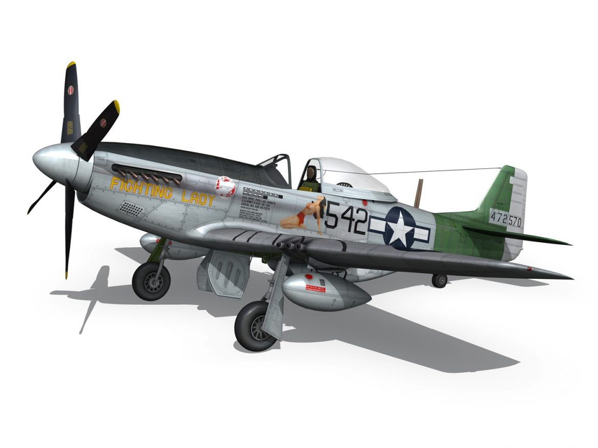 North American P-51D Mustang - Fighting Lady ( 191.87KB jpg by Panaristi )