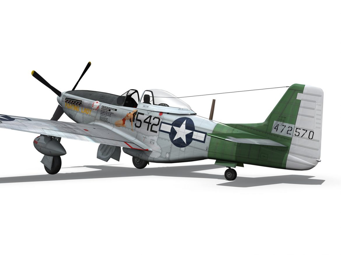 North American P-51D Mustang - Fighting Lady ( 185.92KB jpg by Panaristi )