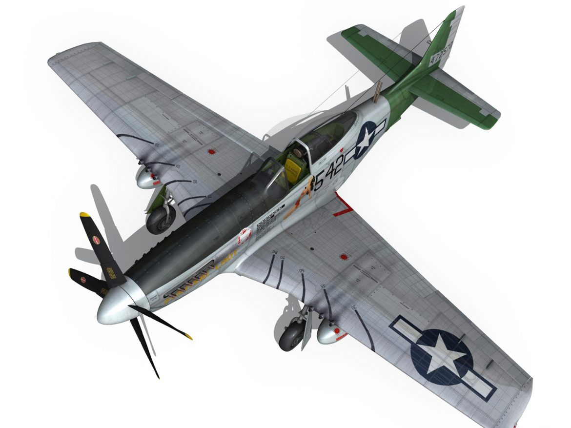 North American P-51D Mustang - Fighting Lady ( 250.46KB jpg by Panaristi )