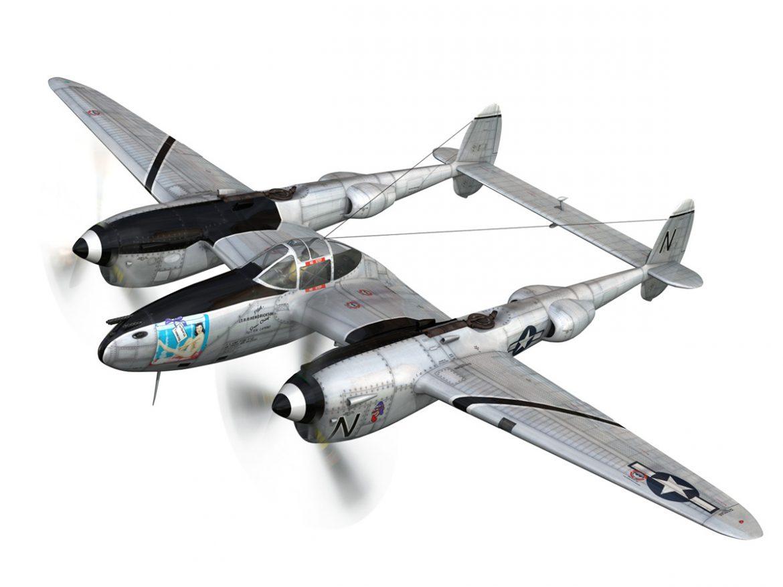 Lockheed P-38 Lightning - Wishful Thinking ( 187.34KB jpg by Panaristi )
