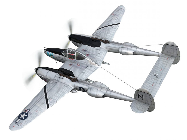 Lockheed P-38 Lightning - Wishful Thinking ( 188.87KB jpg by Panaristi )