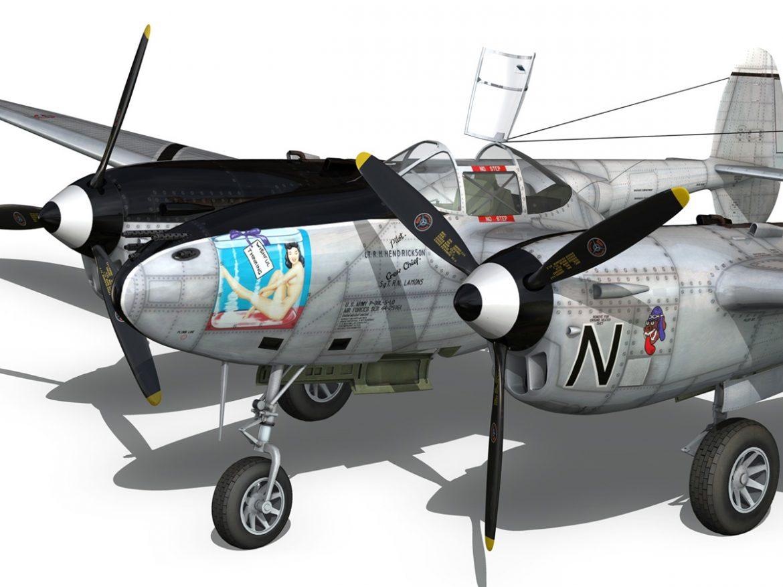 Lockheed P-38 Lightning - Wishful Thinking ( 261.05KB jpg by Panaristi )