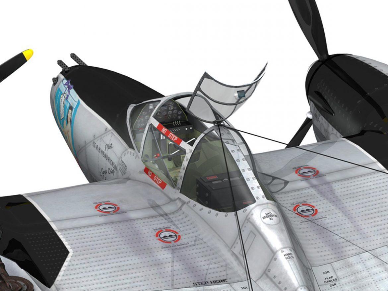 Lockheed P-38 Lightning - Wishful Thinking ( 309.09KB jpg by Panaristi )