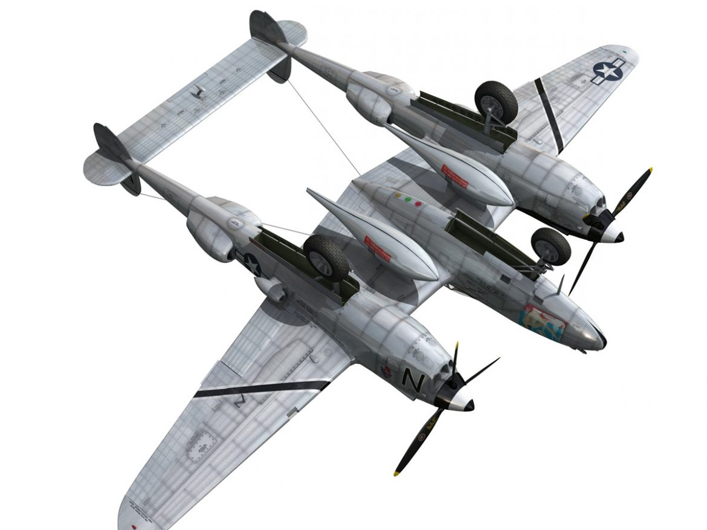 Lockheed P-38 Lightning - Wishful Thinking ( 211.35KB jpg by Panaristi )