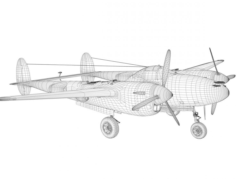 Lockheed P-38 Lightning - Wishful Thinking ( 185.89KB jpg by Panaristi )