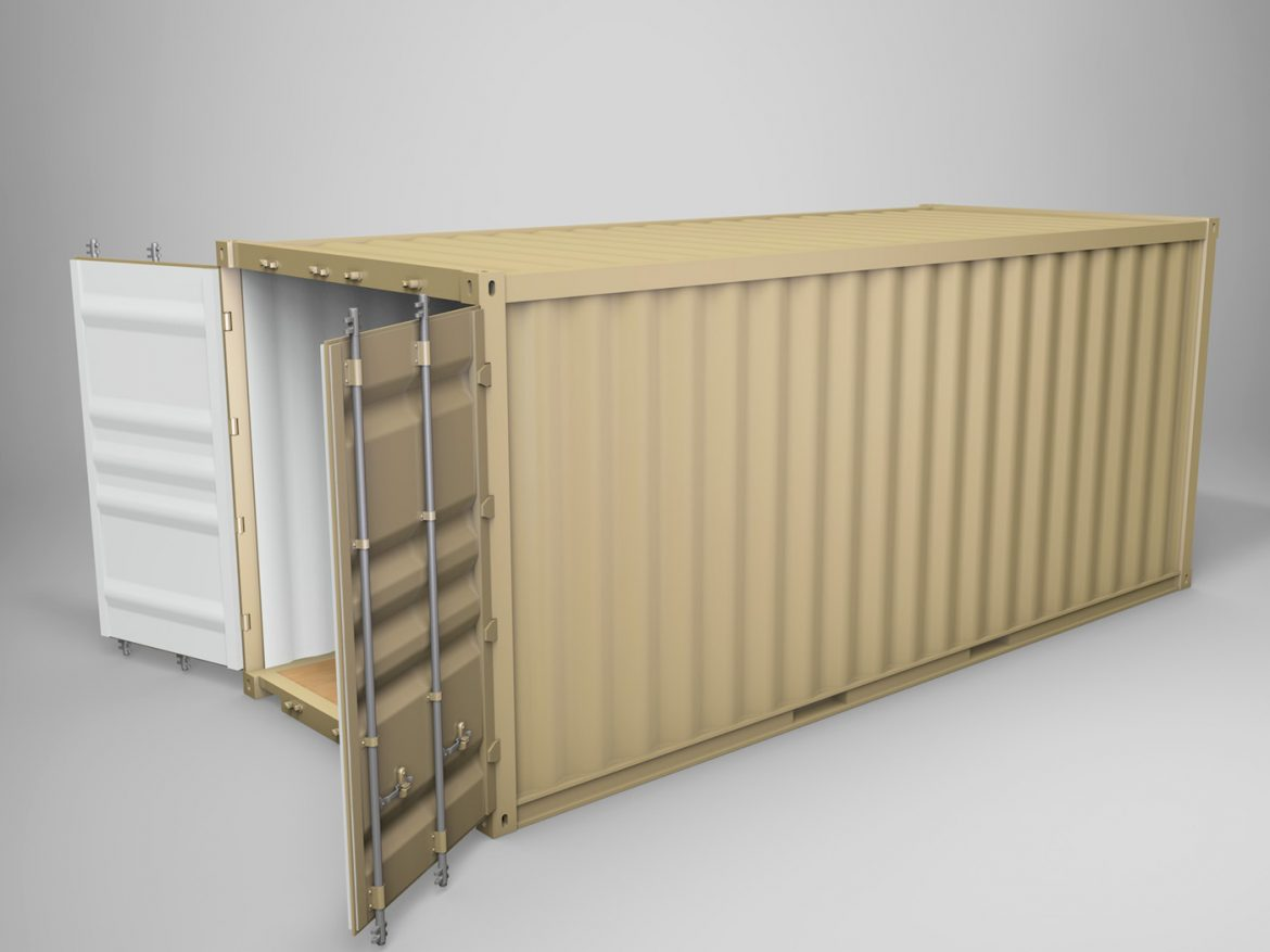 20ft Shipping Container  ( 193.19KB jpg by Panaristi )