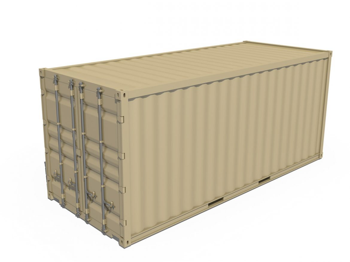 20ft Shipping Container  ( 150.03KB jpg by Panaristi )