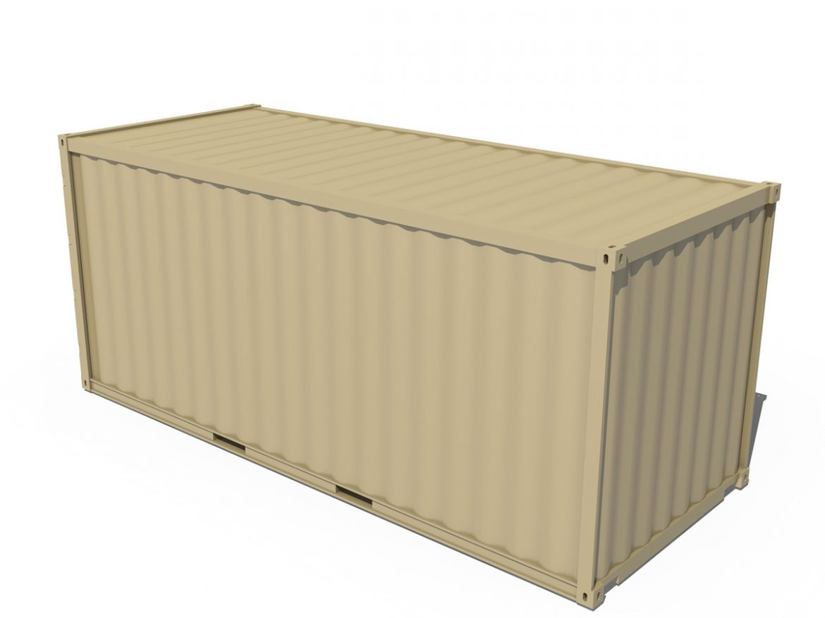 20ft Shipping Container  ( 130.98KB jpg by Panaristi )