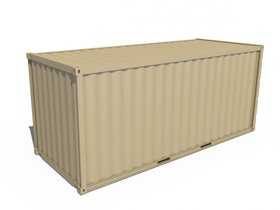 20ft Shipping Container  ( 125.01KB jpg by Panaristi )