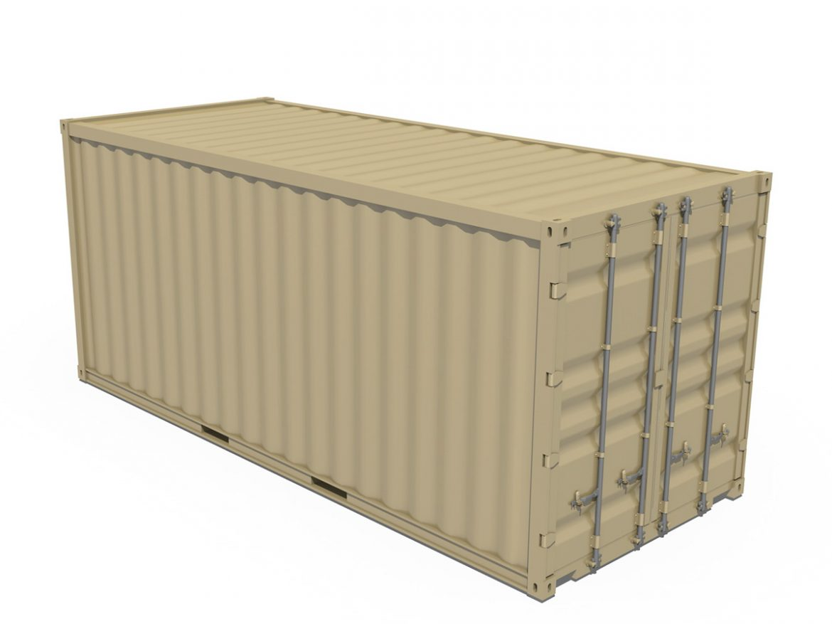 20ft Shipping Container  ( 154.79KB jpg by Panaristi )
