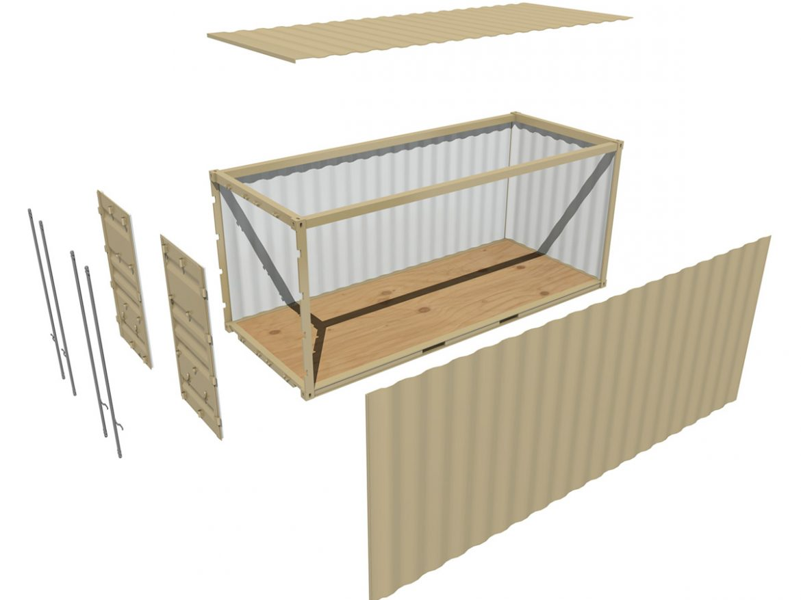 20ft Shipping Container  ( 162.46KB jpg by Panaristi )