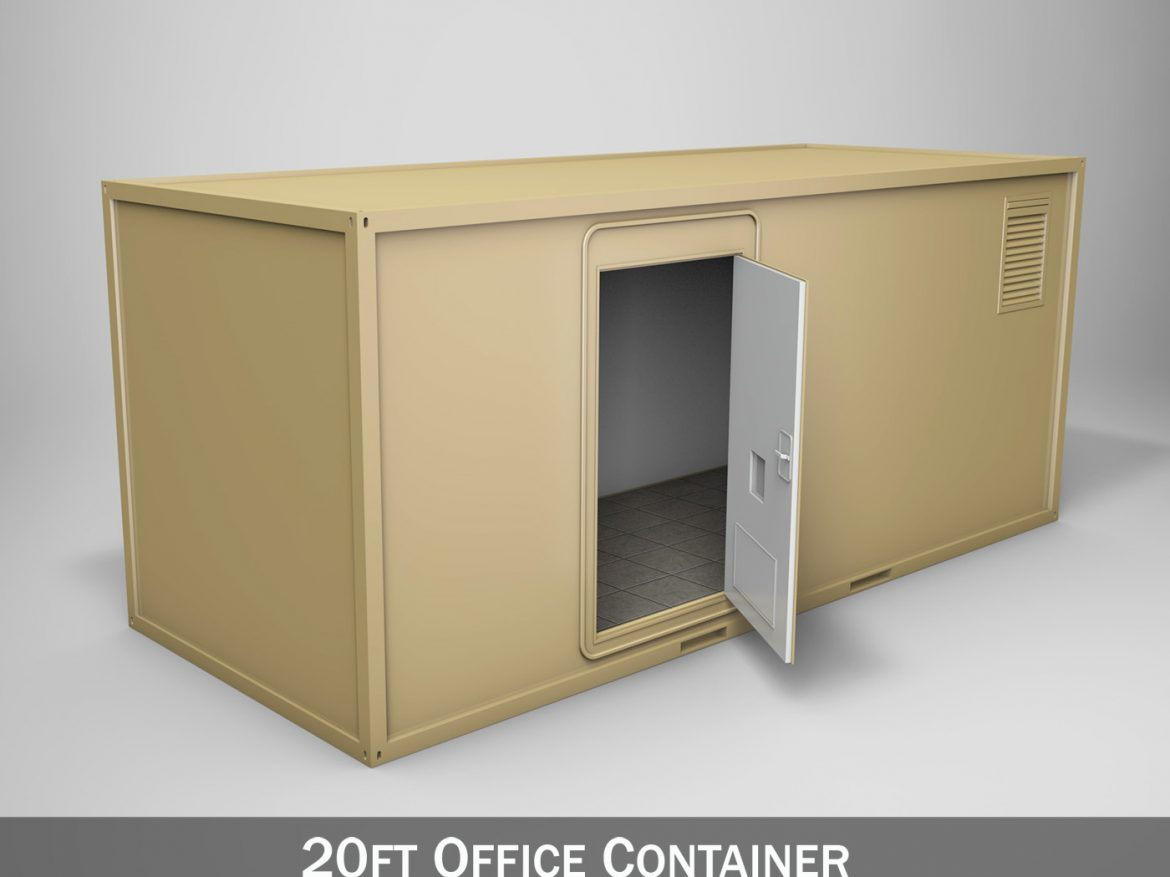 20ft Office Container Version1 ( 176.95KB jpg by Panaristi )