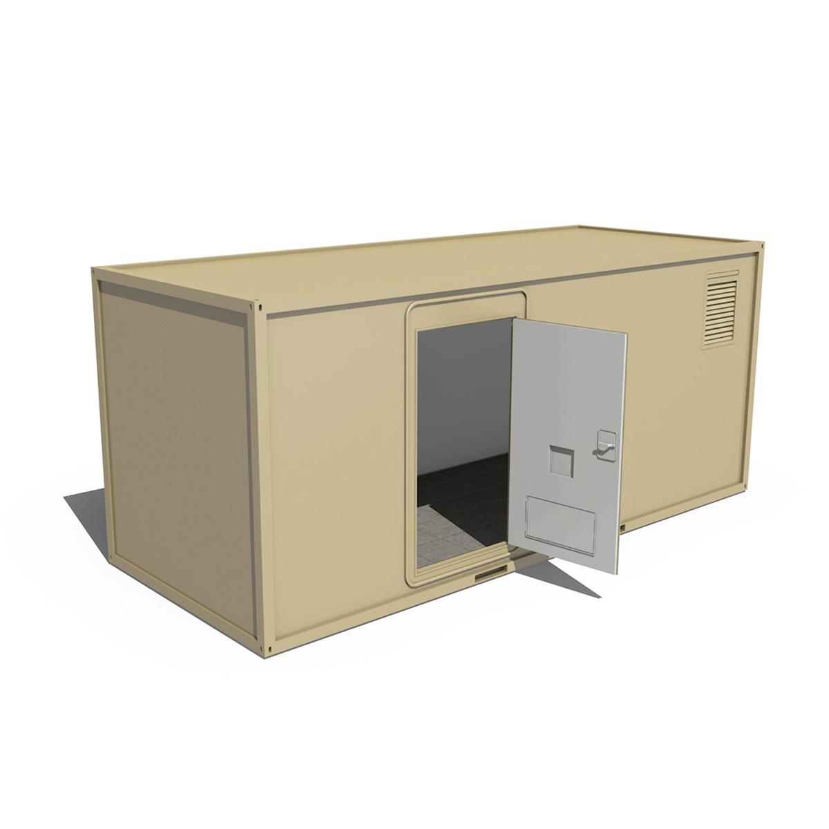 20ft biroja konteinera versija 3d modelis 3ds fbx c4d lwo obj 252265