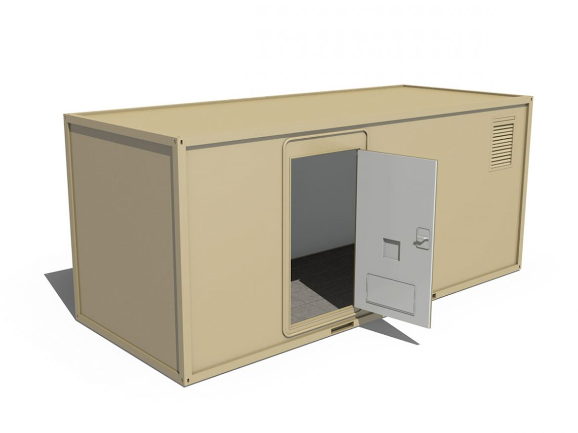 20ft Office Container Version1 ( 122.21KB jpg by Panaristi )