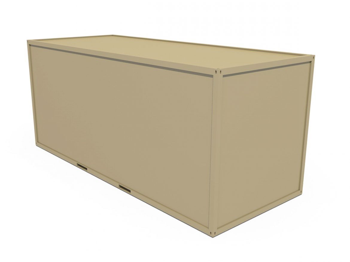 20ft Office Container Version1 ( 97.87KB jpg by Panaristi )