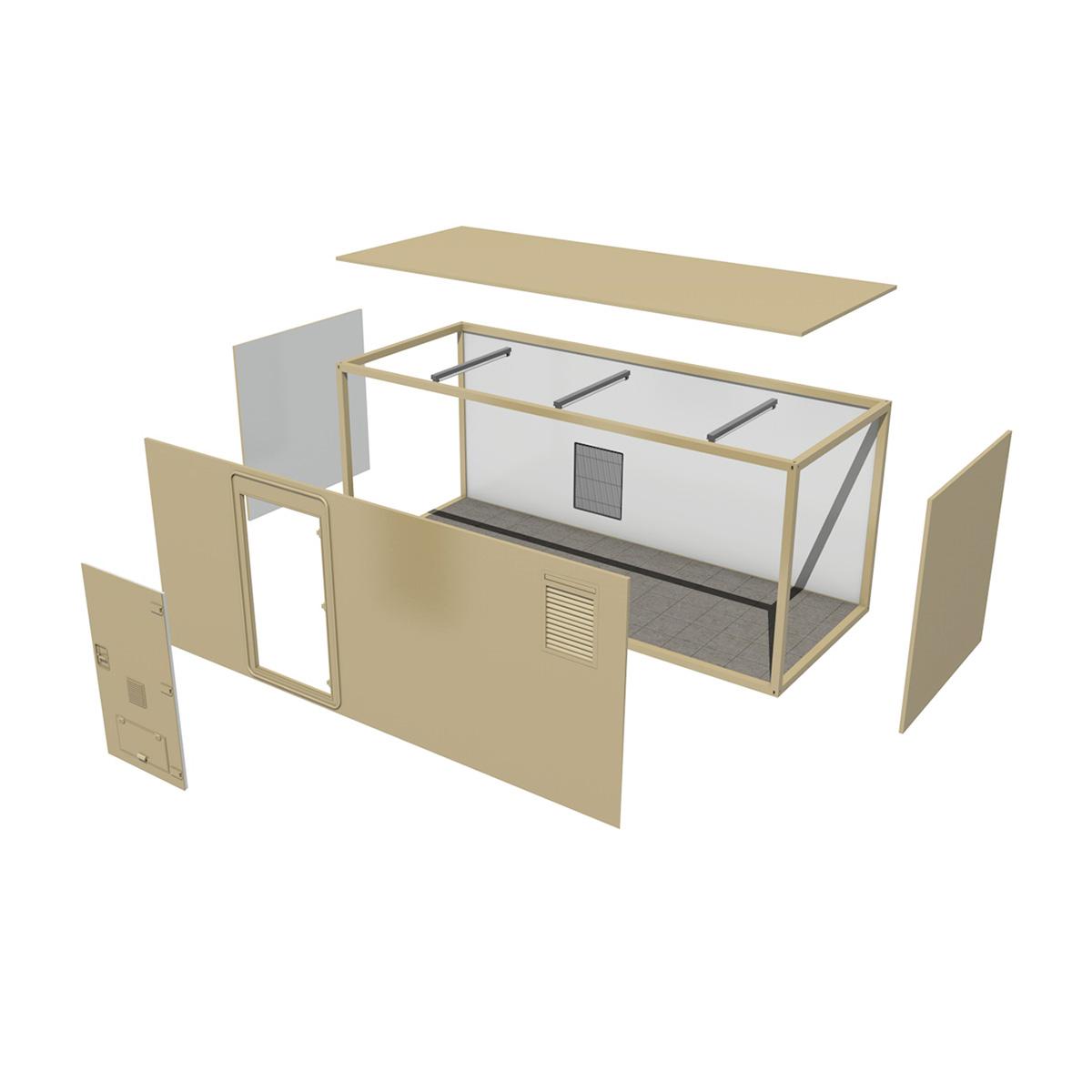 20ft biroja konteinera versija 3d modelis 3ds fbx c4d lwo obj 252270