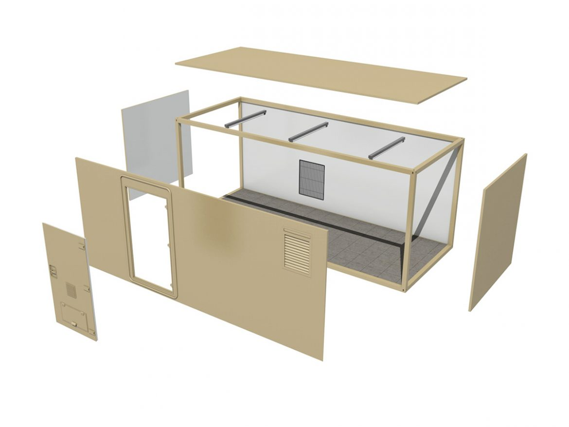 20ft Office Container Version1 ( 134.16KB jpg by Panaristi )
