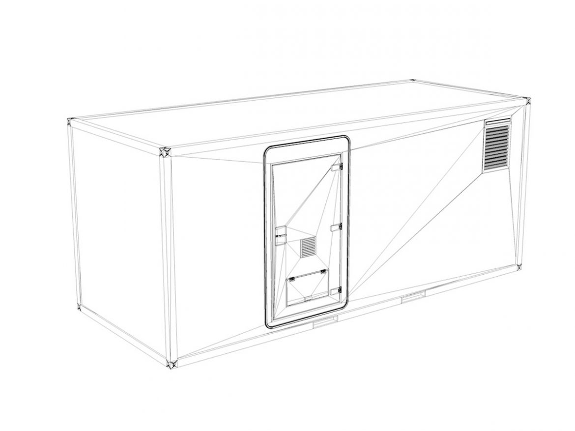 20ft Office Container Version1 ( 121.13KB jpg by Panaristi )
