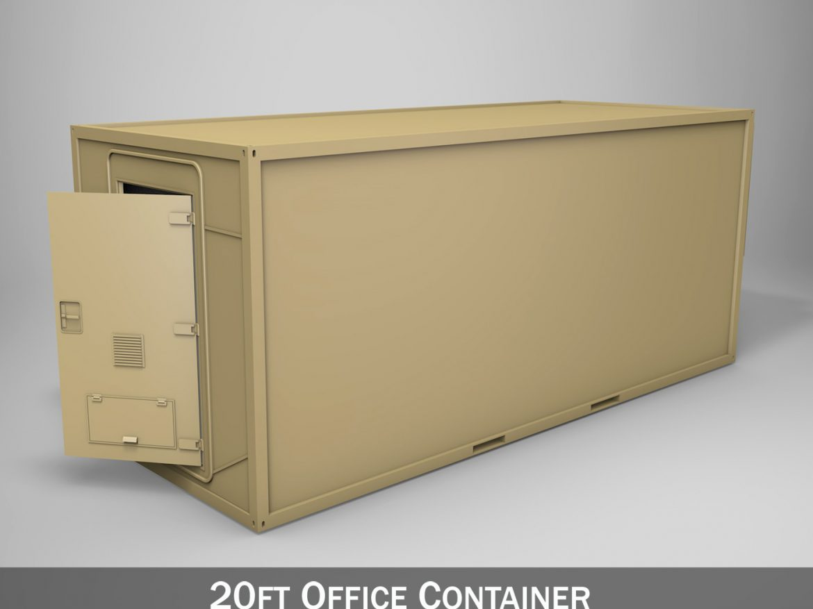 20ft Office Container Version 2 ( 170.48KB jpg by Panaristi )