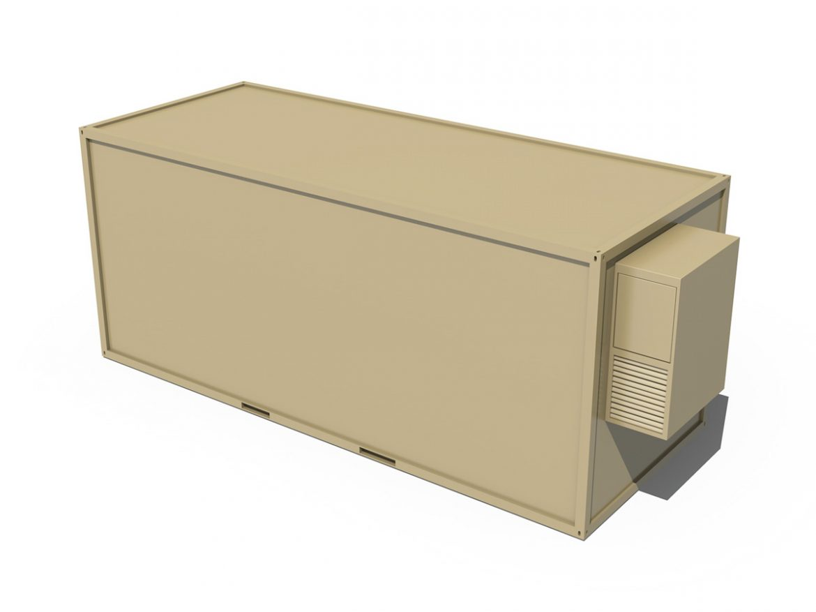 20ft Office Container Version 2 ( 110.03KB jpg by Panaristi )
